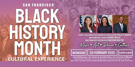 San Francisco Black History Month Cultural Experience 2020