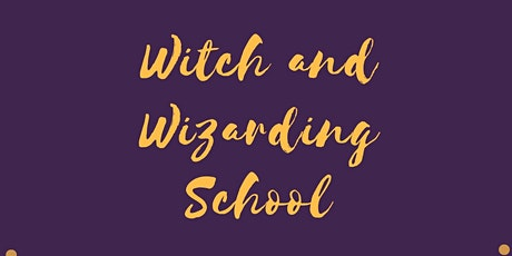 Witch and Wizarding school tickets