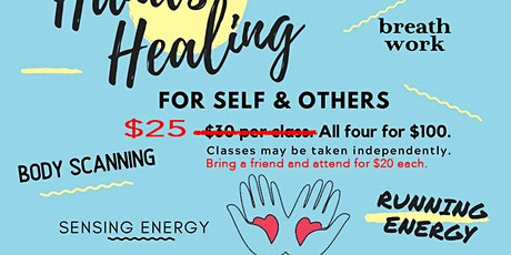 Hands on Healing (4 Part Class Series) tickets