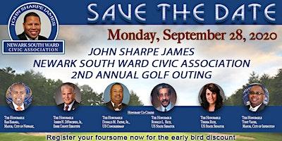 John Sharpe James Newark South Ward Civic Association 2nd Annual Golf Outing