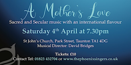 A Mother's  Love tickets