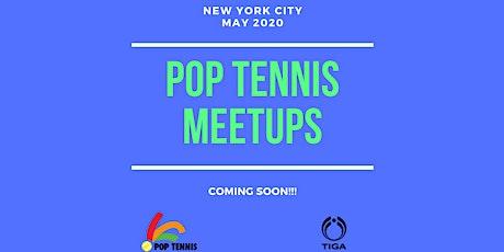 Join New York POP Tennis Meetups Mailing List tickets