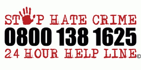 Hate Crime Awareness Training - Third Party Reporting tickets