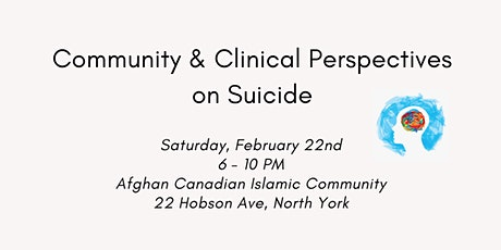 Community and Clinical Perspectives on Suicide tickets