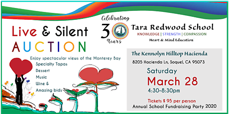 Tara Redwood School Gala - 30 Years Educating Hearts and Minds tickets