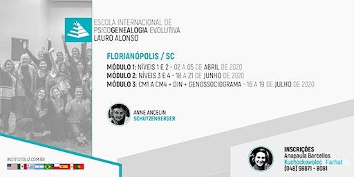 INSCRIÇÃO - FLORIANÓPOLIS - FORMAÇÃO PSICOGENEALOGIA EVOLUTIVA - TURMA III