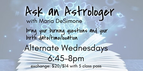 Ask an Astrologer with Maria DeSimone tickets