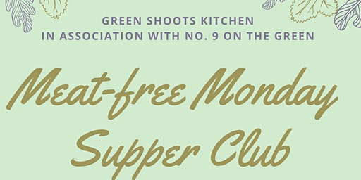 Vegan Monday Supper Club