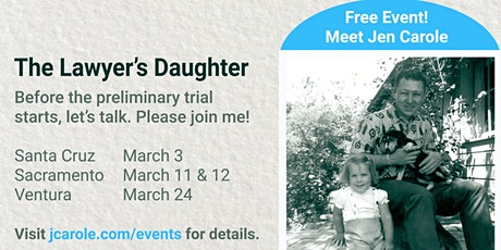 An Evening with The Lawyer's Daughter | Sacramento - East Sac tickets