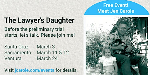 An Evening with The Lawyer's Daughter | Sacramento - Citrus Heights