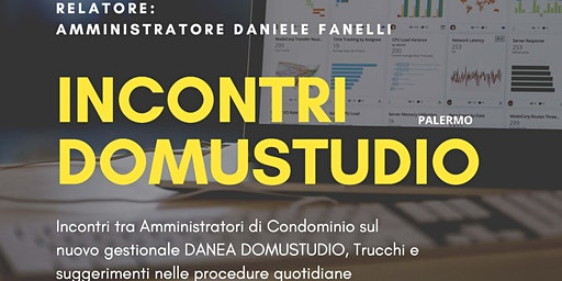 PALERMO INCONTRO TRA AMMINISTRATORI DI CONDOMINIO DANIELE FANELLI