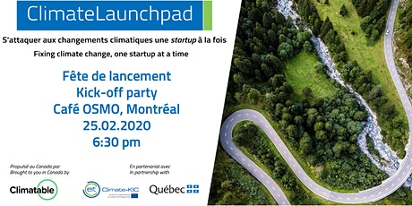 Lancement ClimateLaunchpad Canada 2020 - Kick-off tickets