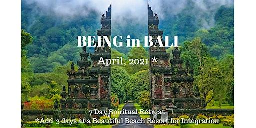 BEING in Bali - Self-Love & Awakening Spiritual Retreat