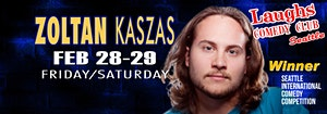 Seattle Show with Comedian Zoltan Kaszas - Seen on Dry...
