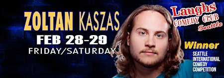 Seattle Show with Comedian Zoltan Kaszas - Seen on Dry Bar Comedy!