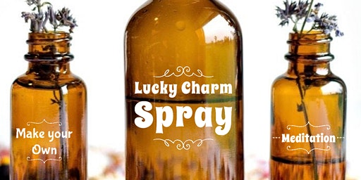 DIY Lucky Charm Aromatherapy Spray Meditation