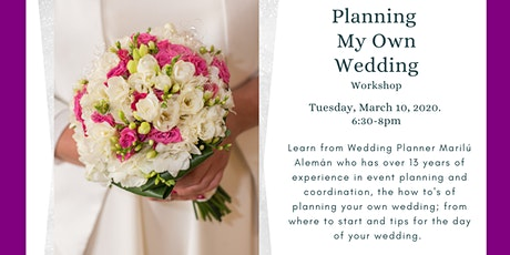 Planning My Own Wedding- Workshop tickets
