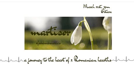 Food Memories. Vol.II. A journey to the heart of two Romanian hearths tickets