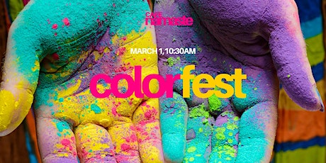 Cafe Namaste: ColorFest tickets