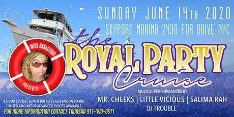 """Miss Undastood Presents """"The Royal Party & Cruise"""" Come Celebrate With Me! tickets"""