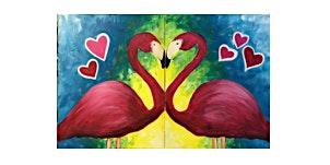 Couple's Date Night | Flamingos | $50-$60