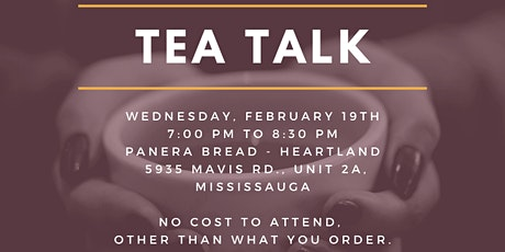 LOJ - TEA TALK! NETWORK. CONNECT. EDUCATE. tickets