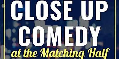Close Up Comedy April Show - virtual! tickets