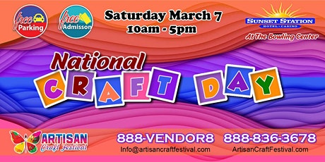Artisan Craft Festival : National Crafting Day Henderson Las Vegas tickets