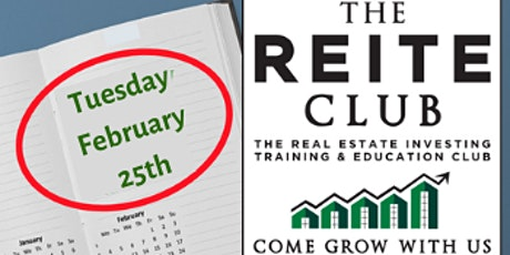 Real Estate Investing & Education - Monthly Event - Feb 25th  2020 tickets