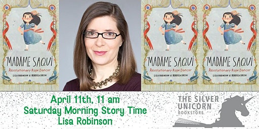 Saturday Morning Storytime: Lisa Robinson