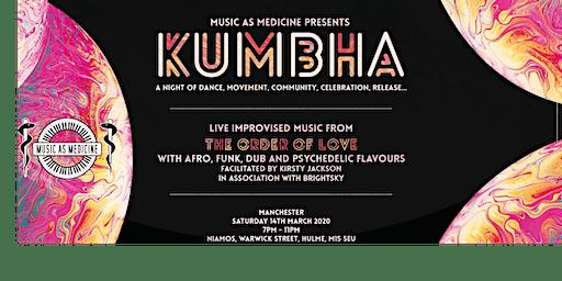 Music As Medicine: Kumbha - live ecstatic dance MCR