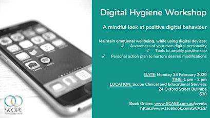 Community Workshop - Digital Hygiene tickets
