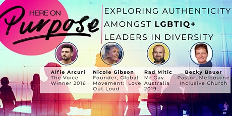 Here On Purpose: LGBTIQ+ Leaders in Diversity tickets