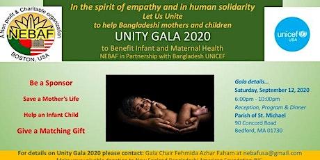 UNITY GALA 2020: Benefit Dinner for Bangladesh Children tickets