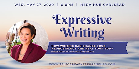 Expressive Writing: How Writing Can Change Neurobiology & Heal Your Body tickets