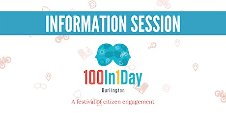 100in1Day Burlington Information Session tickets
