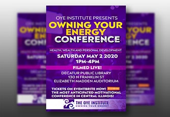 The Owning Your Energy Conference! tickets