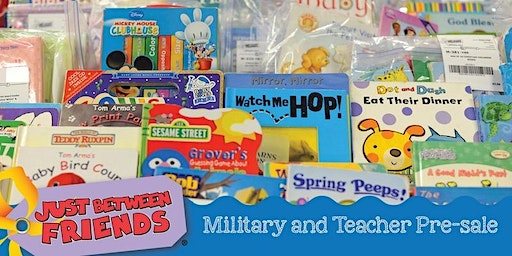 Teacher & Military Shopping Presale Pass • JBF Bellingham Summer 2020