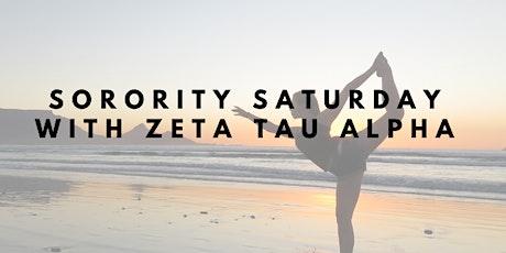 Sorority Saturday tickets