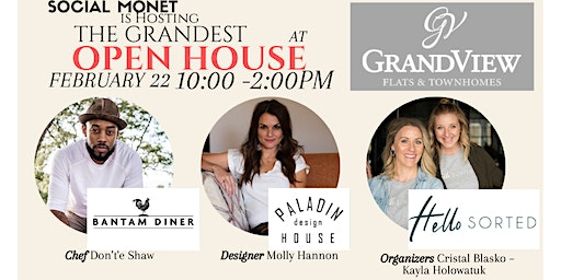 Social Monet Hosting Grandview Flats & Townhome The Grandest OPEN HOUSE