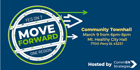 Move Forward Issue 7 Community Townhall tickets