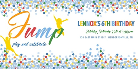 Lennox's 6th Birthday tickets