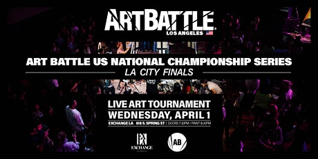 Art Battle Los Angeles City Finals - April 1, 2020 tickets