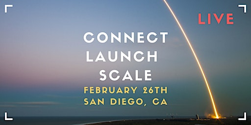 Connect, Launch & Scale LIVE