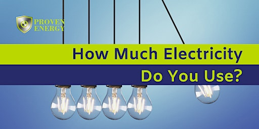 How Much Electricity Do You Use?