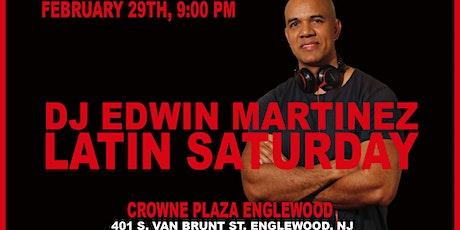 Latin Saturday at Crowne Plaza Englewood, NJ tickets