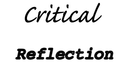 Introduction to Critical Reflection: Back to basics and simplicity tickets