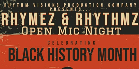 Rhymez & Rhythmz Open Mic Night tickets