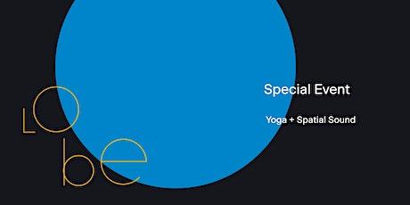 Yoga + Spatial Sound Workshop tickets