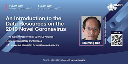 An Introduction to the Data Resources on the 2019 Novel Coronavirus